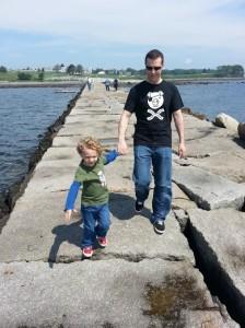 Rockland Breakwater Walk