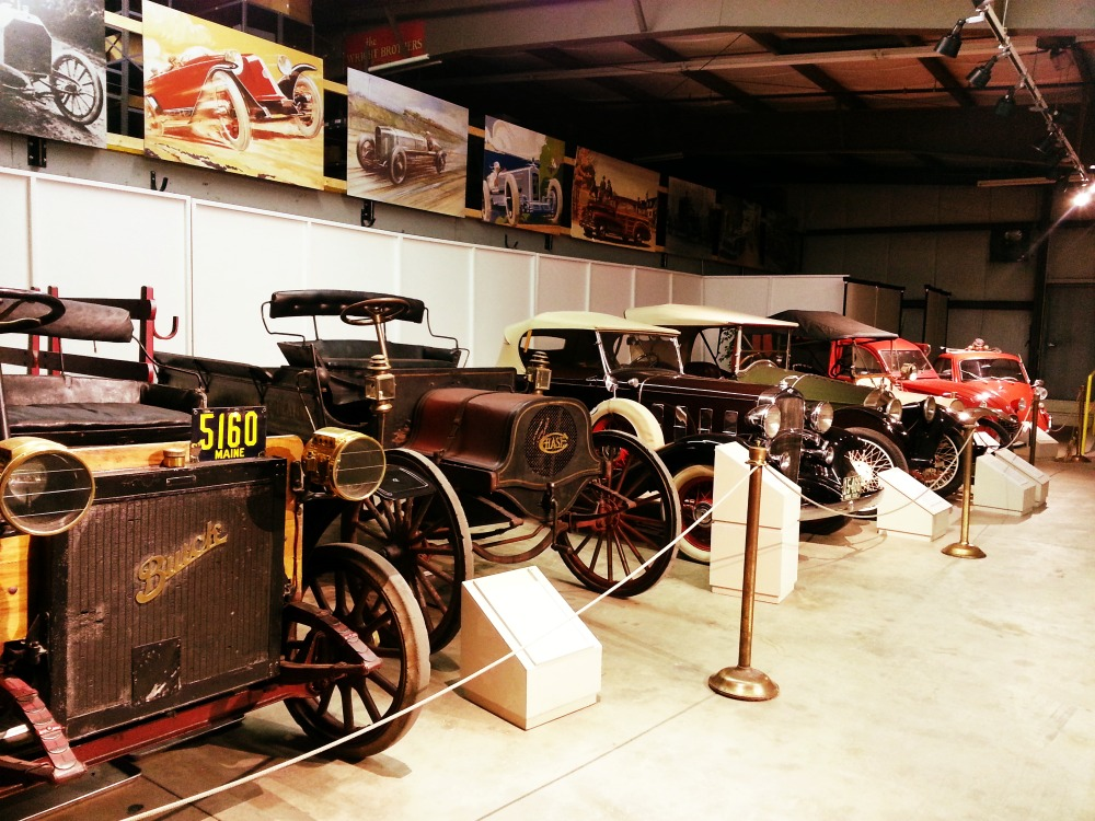 Old cars at the Owl's Head Transportation Museum