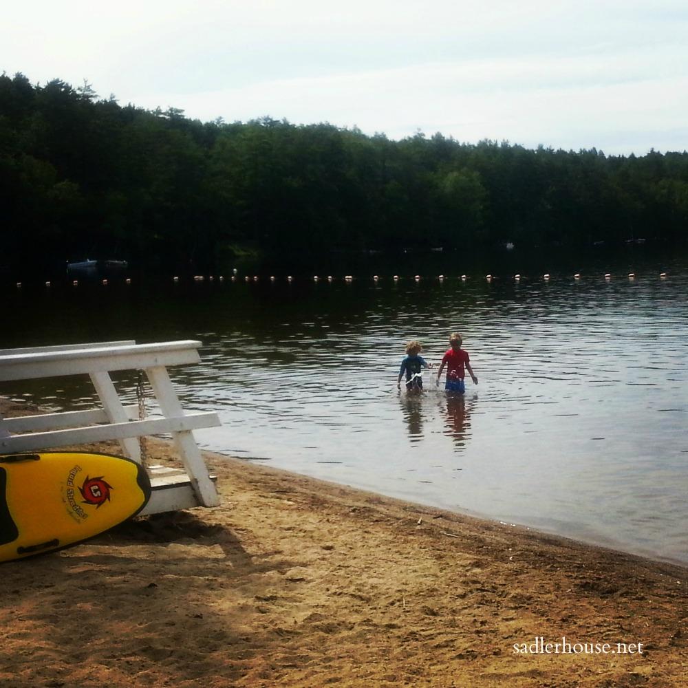 Midcoast Maine Beaches - Lake Damariscotta
