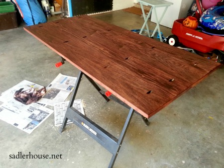 Industrial Coffee Table Stain - Sadler House