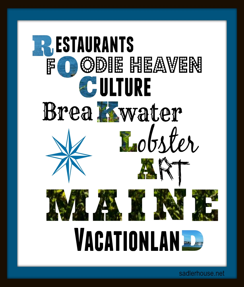 Rockland, Maine is...