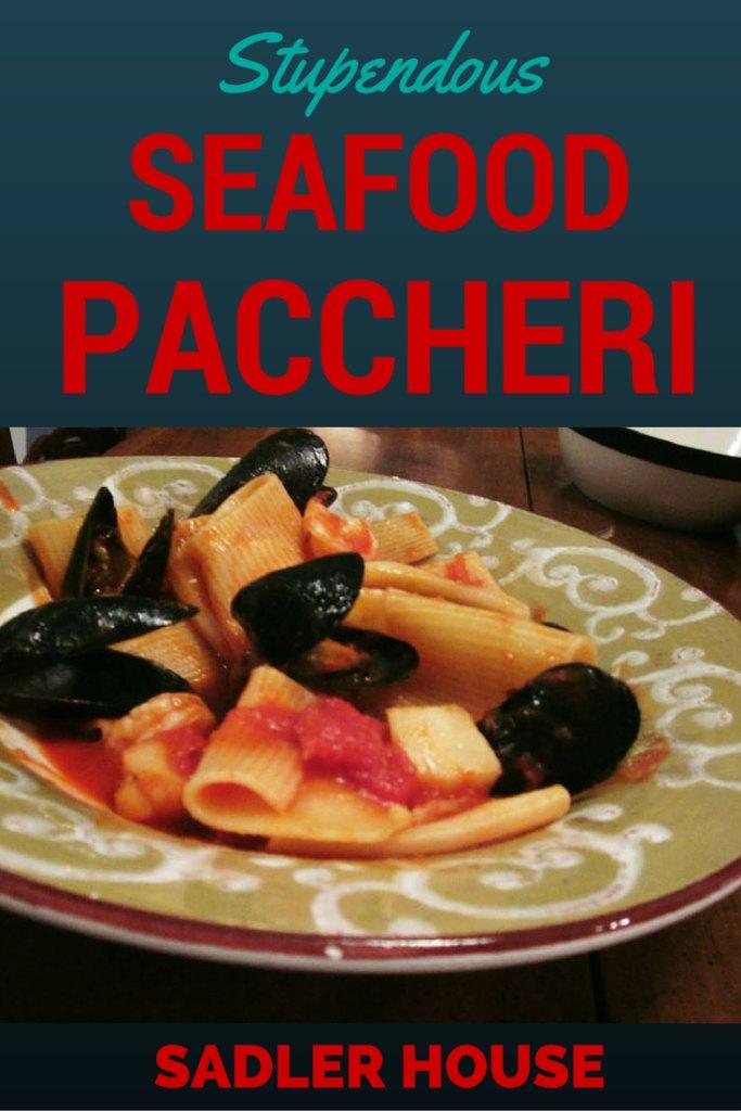 Seafood Paccheri Recipe