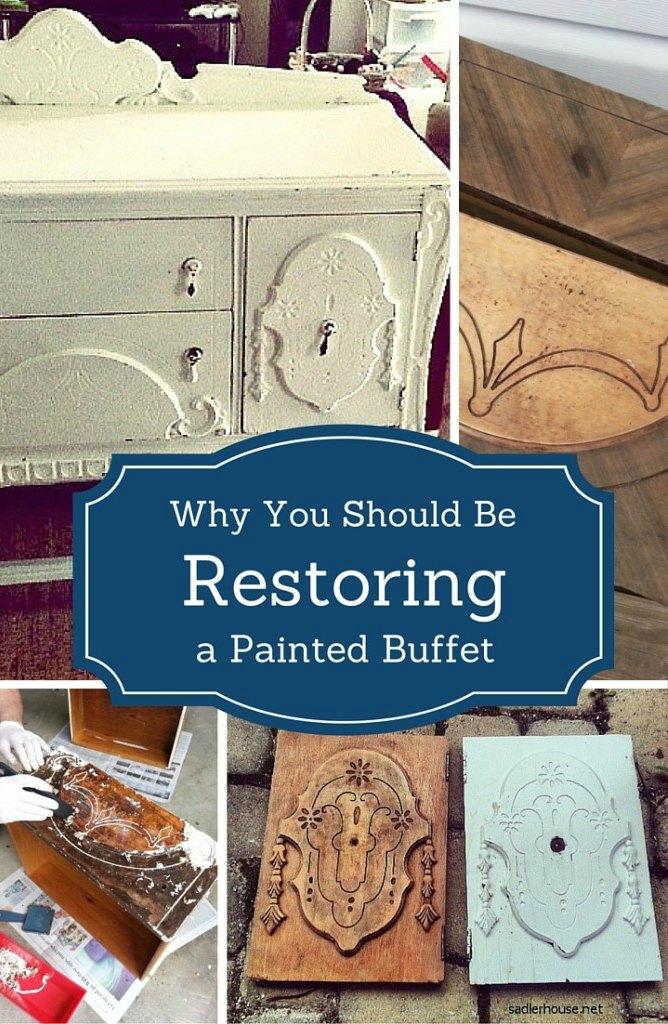 Restoring a Depression Era Buffet