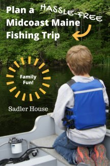 Midcoast Maine fishing trips can be easy to plan! Find out how to do it hassle-free and have a great family day.