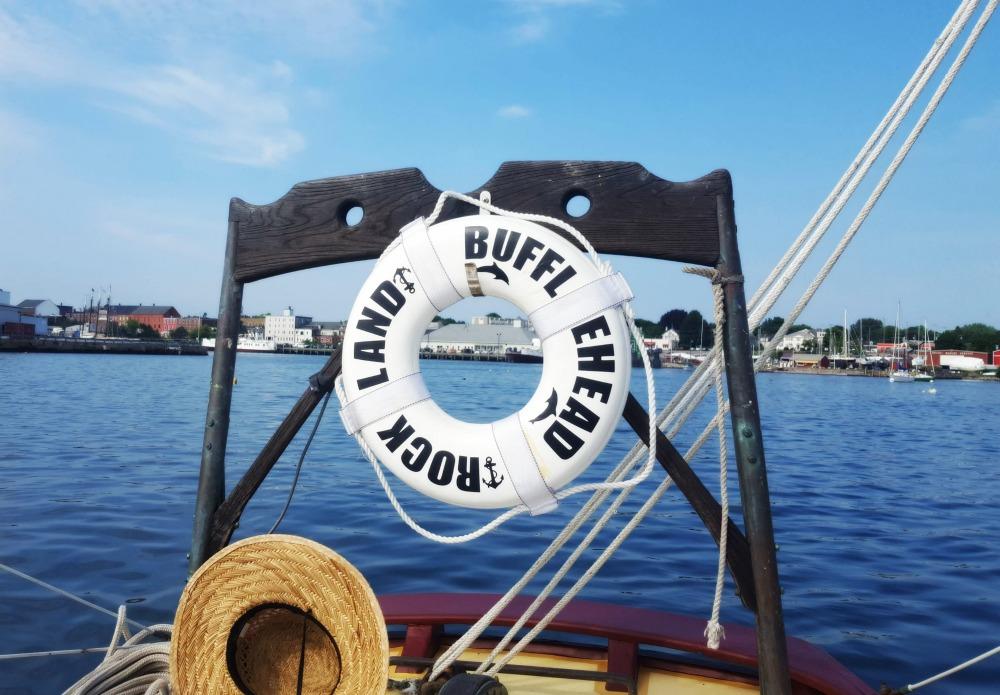 Sailing in Maine on The Bufflehead