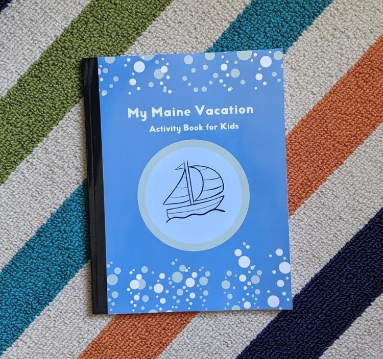 My Maine Vacation Activity Book